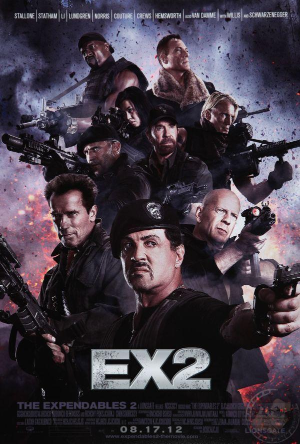 Οι Αναλώσιμοι 2-The Expendables 2-Poster-01