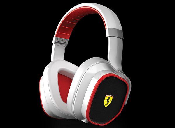 Συλλογή Ασκουστικών απο Ferrari και Logic3 - White Headphones