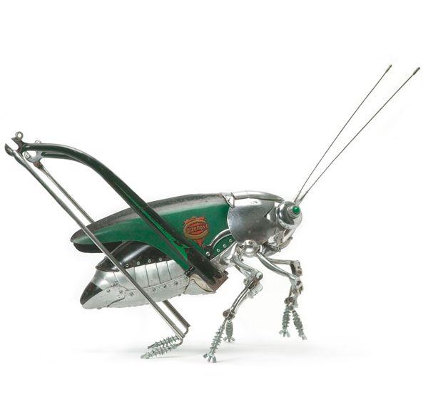 Edouard Martinet's Metal Animals Sculptures-01