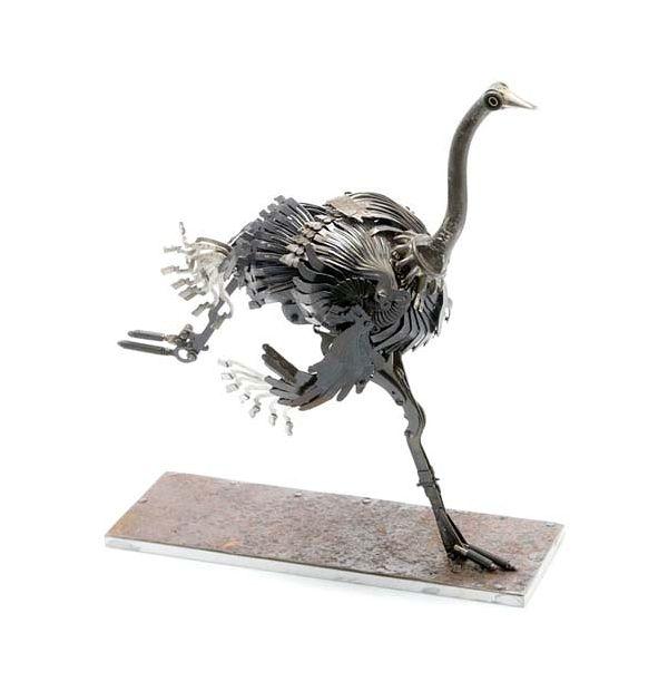 Edouard Martinet's Metal Animals Sculptures-02