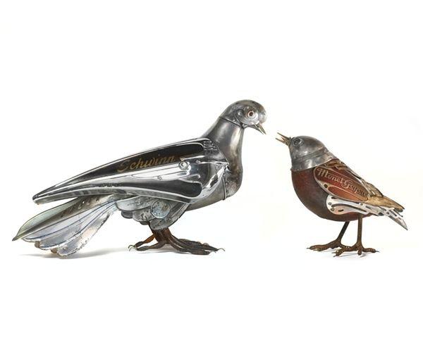 Edouard Martinet's Metal Animals Sculptures-03
