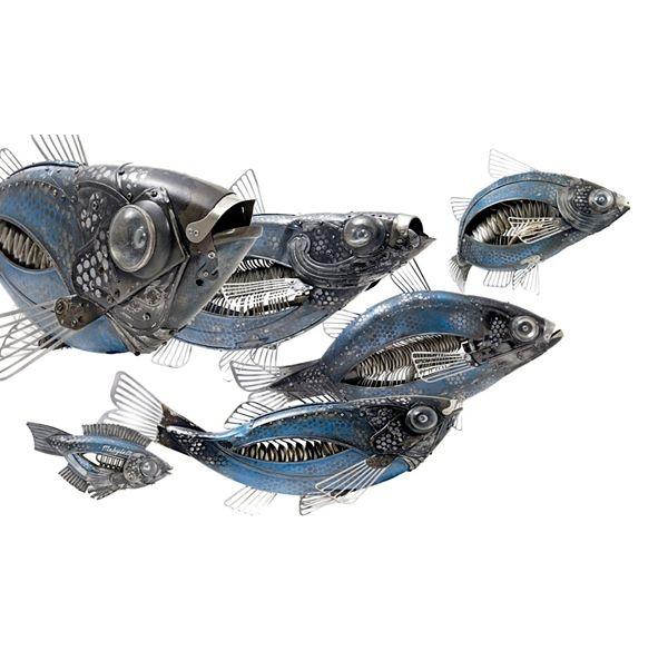 Edouard Martinet's Metal Animals Sculptures-06