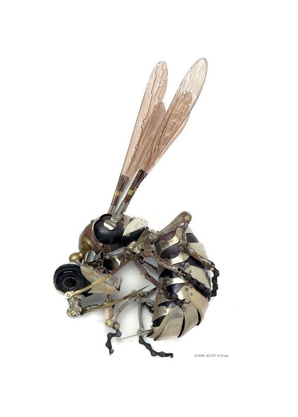 Edouard Martinet's Metal Animals Sculptures-07