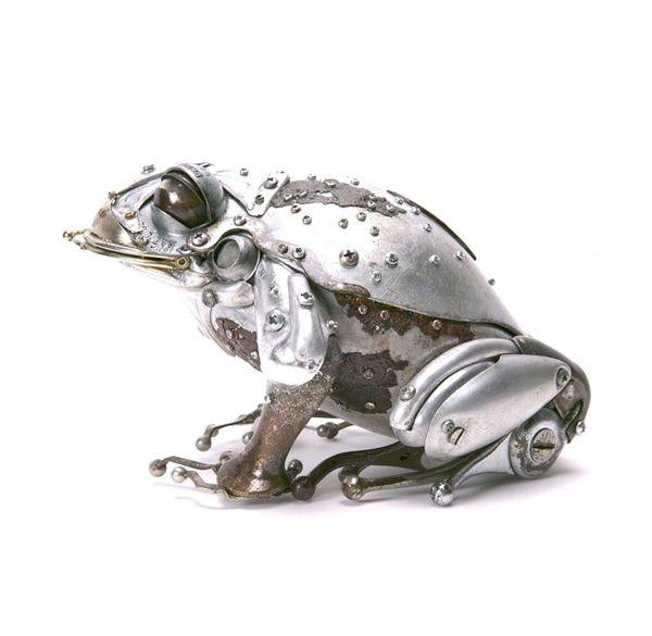 Edouard Martinet's Metal Animals Sculptures-09