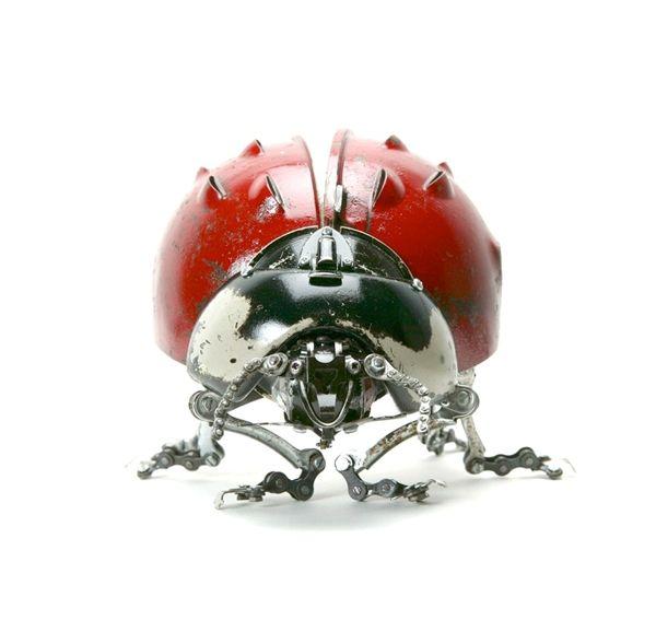 Edouard Martinet's Metal Animals Sculptures-12