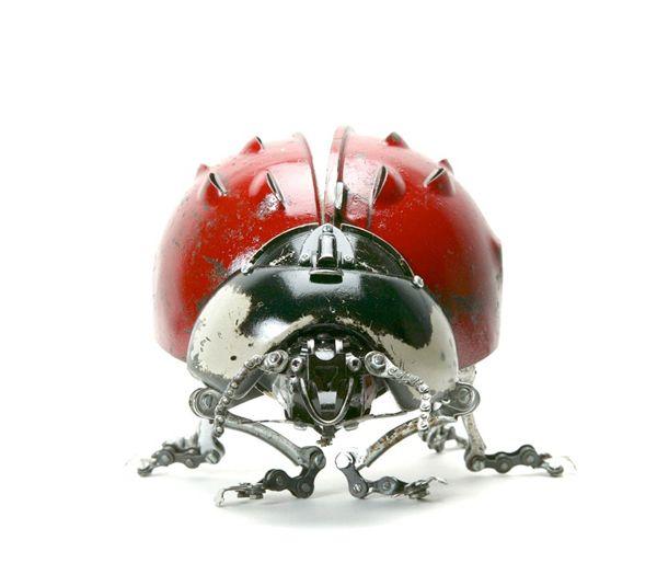 Edouard Martinet's Metal Animals Sculptures-general