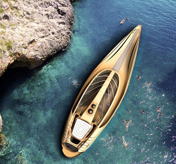 "Elegant Yacht Concept ""Cronos""-01"