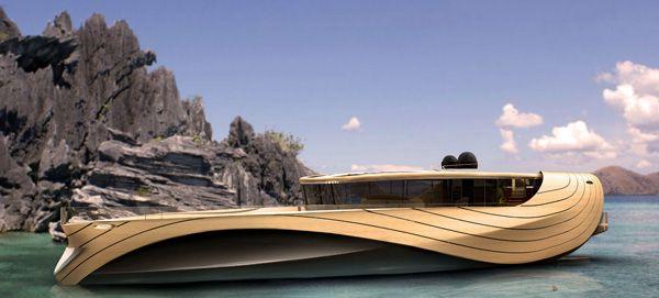 "Elegant Yacht Concept ""Cronos""-02"