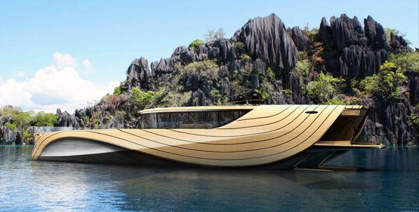 "Elegant Yacht Concept ""Cronos""-03"