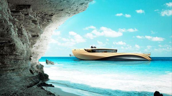 "Elegant Yacht Concept ""Cronos""-04"