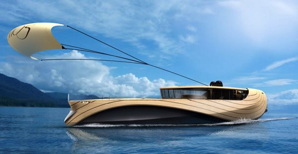 "Elegant Yacht Concept ""Cronos""-05"