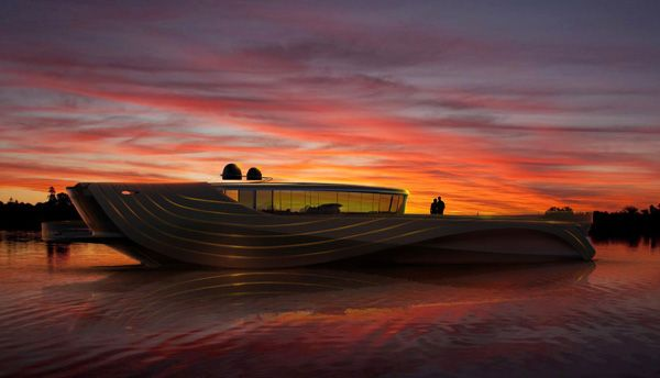 "Elegant Yacht Concept ""Cronos""-07"