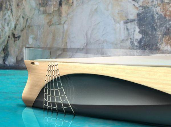 "Elegant Yacht Concept ""Cronos""-08"