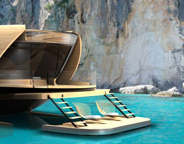 "Elegant Yacht Concept ""Cronos""-09"