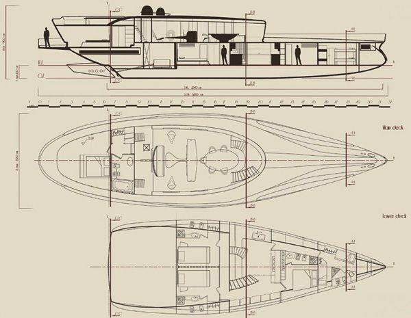 "Elegant Yacht Concept ""Cronos""-18"