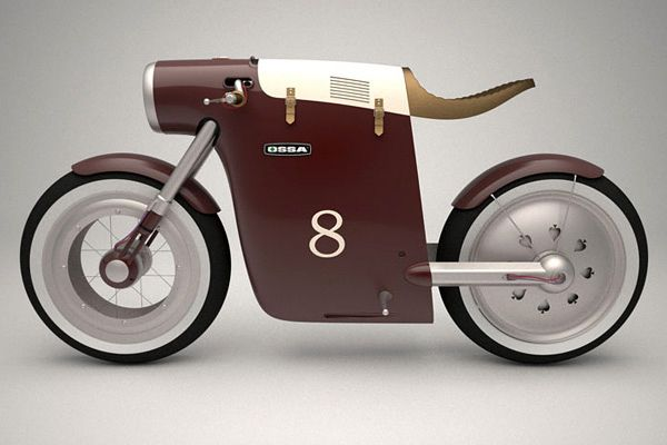 Monocasco Electric Bike by ART-TIC-01