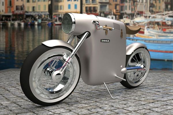 Monocasco Electric Bike by ART-TIC-02