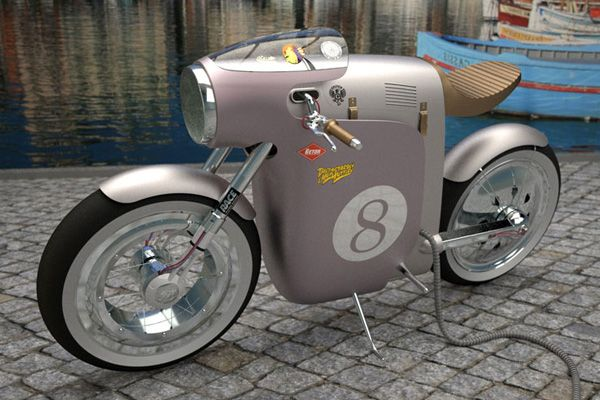Monocasco Electric Bike by ART-TIC-04