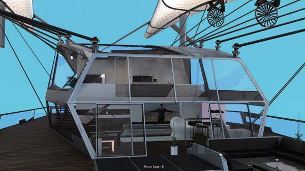 Ιπτάμενο Σπίτι Wolke 7 από τον Timon Sager