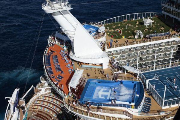 Το Μεγαλύτερο Κρουαζιερόπλοιο του Κόσμου: Allure of the Seas