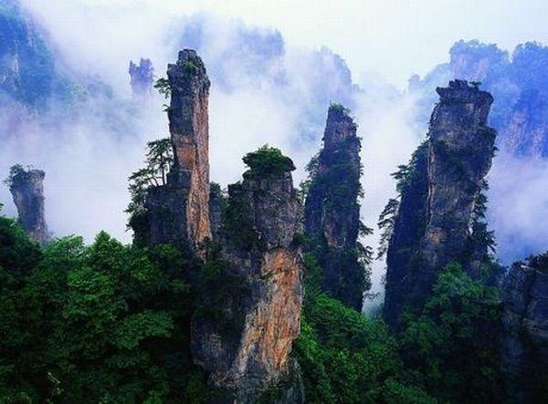 10 Πανέμορφα Μέρη που ίσως να μην Γνωρίζατε ότι Υπαρχουν - Κίνα