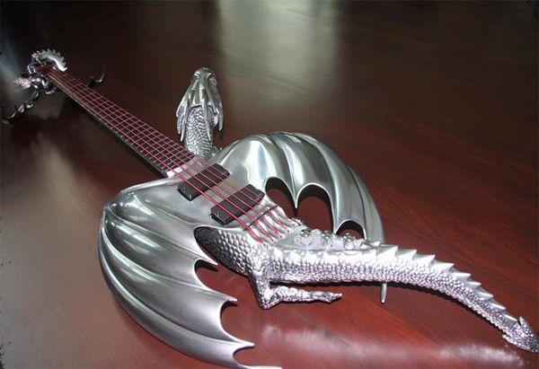 "Custom ""Draco"" Guitar by Emerald Guitars-03"