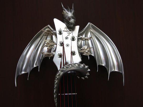 "Custom ""Draco"" Guitar by Emerald Guitars-07"