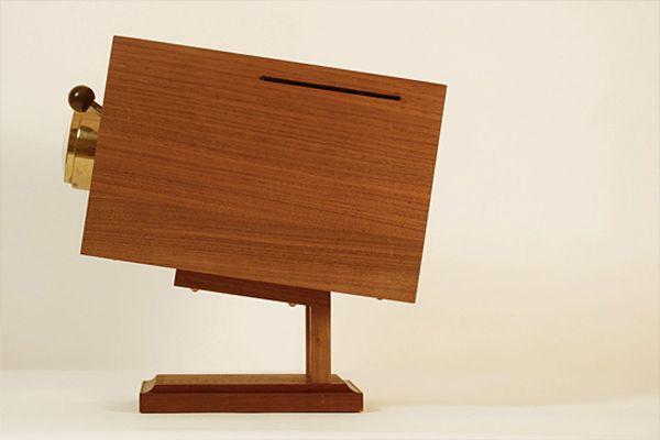 "Retro Wooden Computer ""4M""-04"