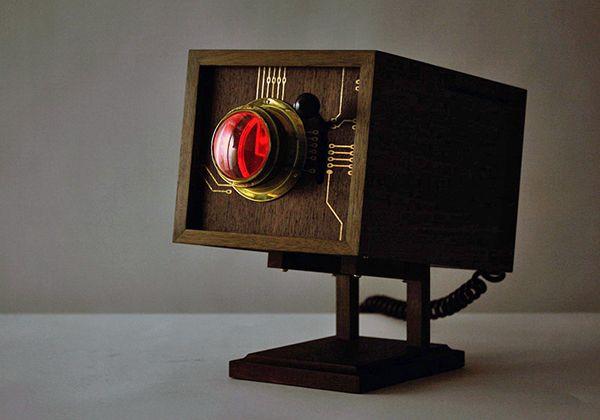 "Retro Wooden Computer ""4M""-10"