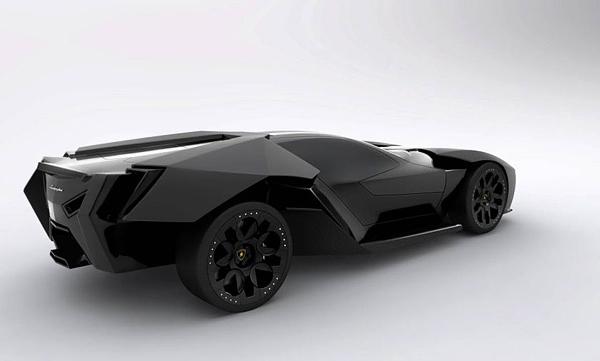 Aggressive Lamborghini Ankonian Concept Car-02