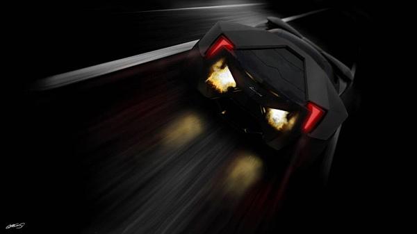 Aggressive Lamborghini Ankonian Concept Car-10