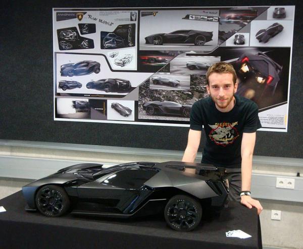 Aggressive Lamborghini Ankonian Concept Car-11
