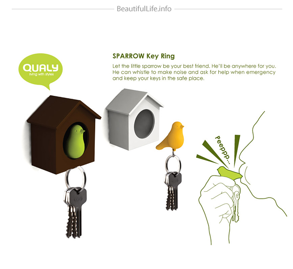 DUO Sparrow Key Ring-05