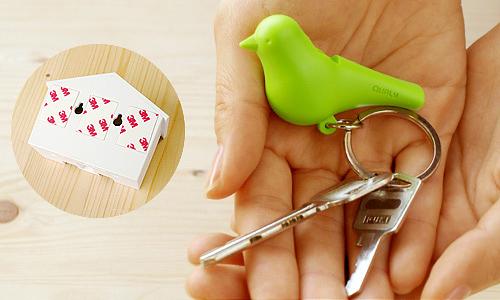 DUO Sparrow Key Ring-07