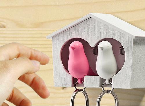 DUO Sparrow Key Ring-10