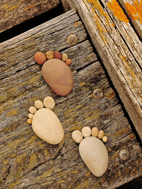 Stone Footprints by Iain Blake-18