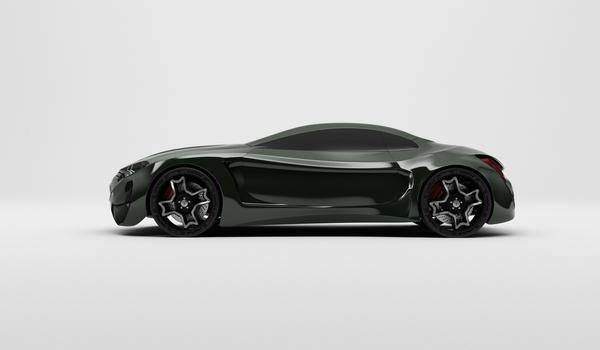 Stunning XKX Jaguar Concept Car-09