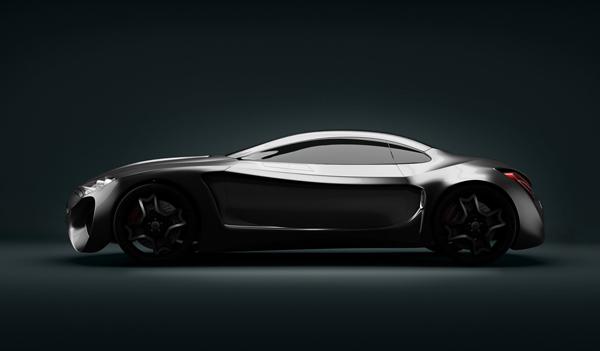 Stunning XKX Jaguar Concept Car-12