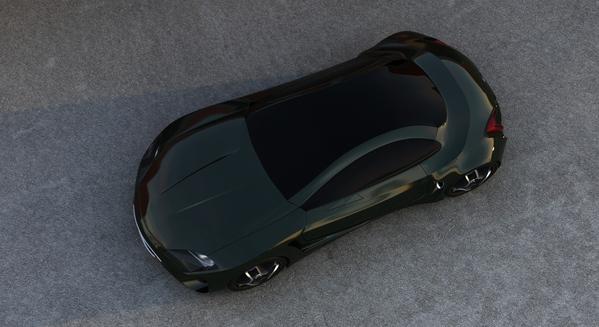 Stunning XKX Jaguar Concept Car-16