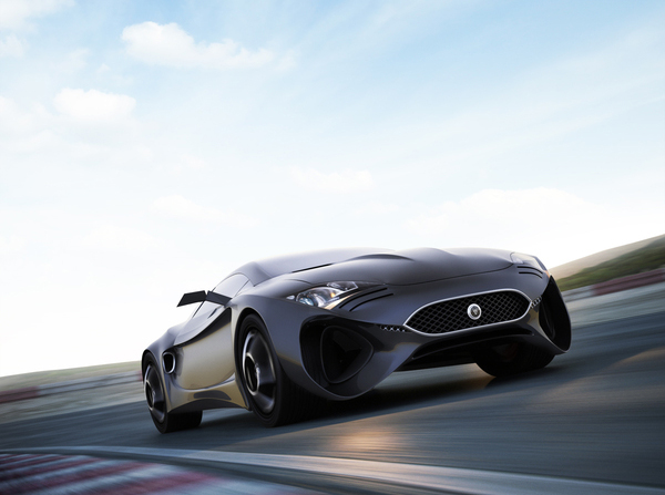 Stunning XKX Jaguar Concept Car-general