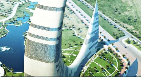Νέος ουρανοξύστης ημισέλινος στο Ντουμπάι