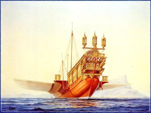 Εντυπωσιακά Ιστιοφόρα από τον Cornelis De Vries