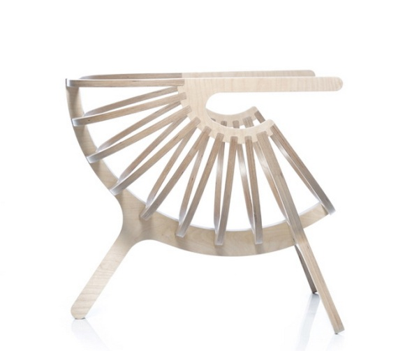 Καρέκλα Κοχύλι από τη Branca-Lisboa