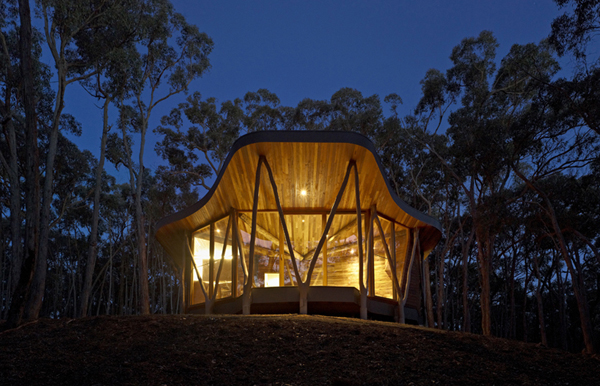 Ξύλινο Σπίτι από την Paul Morgan Architects