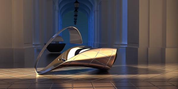 """Κομψή """"Καρέκλα Serenad"""" από τoν Ali Alavi"""