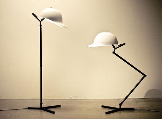 """""""Φωτιστικό Καπέλο"""" από τη YOO Mars Hwasung"""