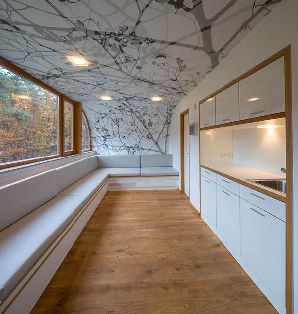 Απίστευτο Σπίτι Ανάμεσα σε Δέντρα στο Βέλγιο