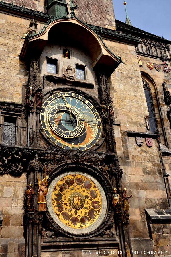 Ένα Ταξίδι στην Όμορφη Τσεχία-Αστρονομικό Ρολόι Πράγας
