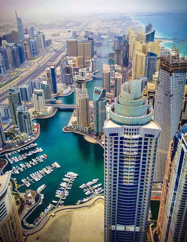 Χρυσός Ήλιος στο Dubai
