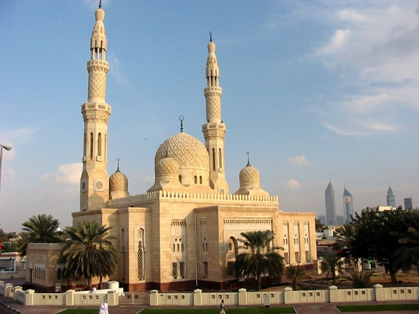 Golden sun in Dubai Τέμενος Jumeirah
